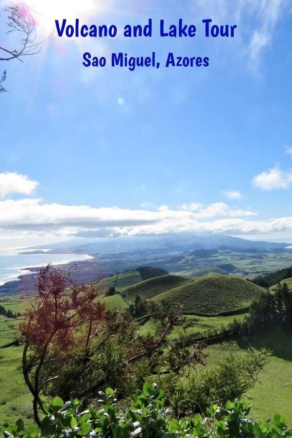 The east of Sao Miguel, Azores, Portgual from Coal Peak #Travel #Azores #SaoMiguel #Portugal #TourReview #transatlantic