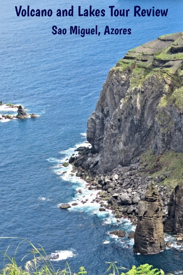 Miradouro da Ponta do Escalvado overlooking the Atlantic in Sao Miguel, Azores, Portugal #travel #Azores #SaoMiguel #review #tourreview #Portugal