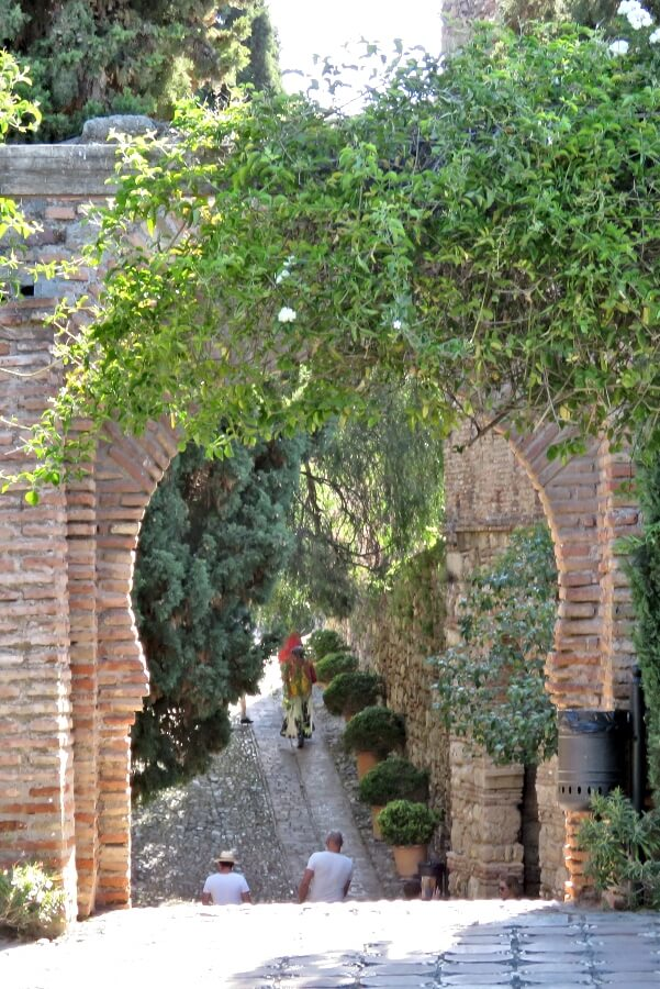 The Alcazaba of Malaga #travel #Spain #Andalusia #Andalucia #Malaga #architecture #alcazaba