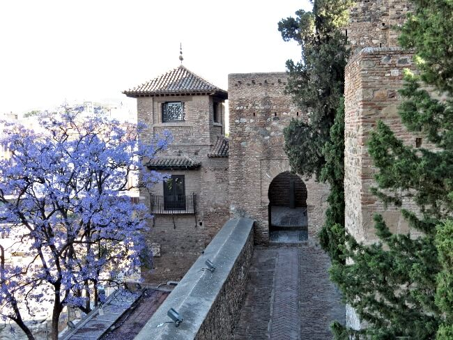 Alcazaba of Malaga #travel #Spain #Andalucia #Andalusia #Malaga #Moorish #architecture #gardens