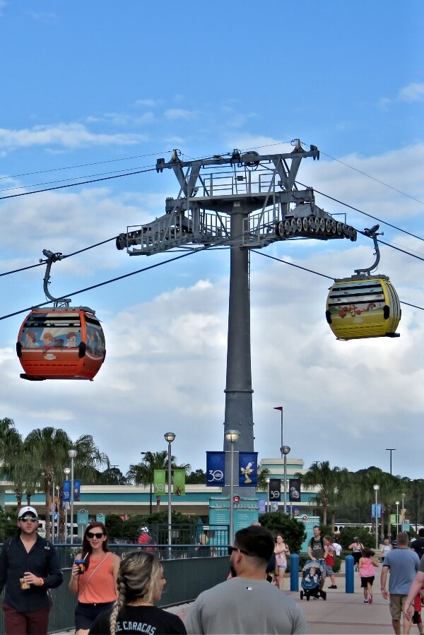 The New Disney Skyliner