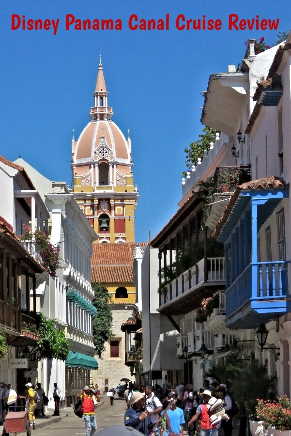 Cartagena, Colombia, one of the stop's on the Disney Panama Canal Cruise  #travel #Disney #DisneyCruiseLine #DCL #Panama #PanamaCanal #cruise #Colombia #Cartagena