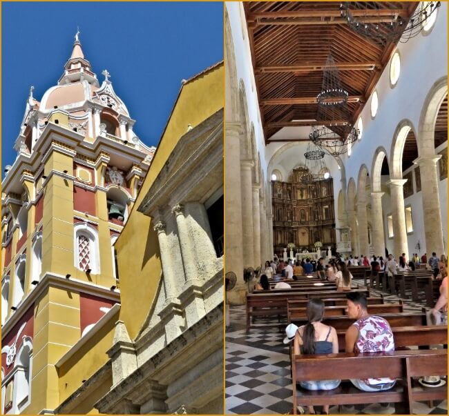 Cartagena, Colombia phototour - Cathedral Santa Catalina #travel #Colombia #Cartagena #Caribbean #cruise #PanamaCanalCruise #DisneyCruiseLine #architecture