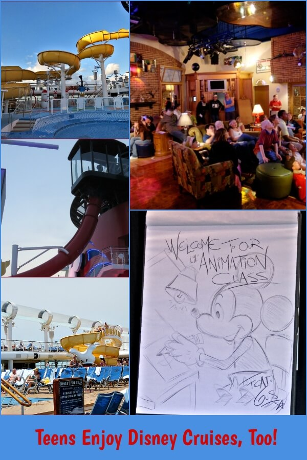 Disney Cruises are not just for kids.  Teens and Adults Enjoy Disney Cruises, Too!  #travel #Disney #DisneyCruiseLine #DCL