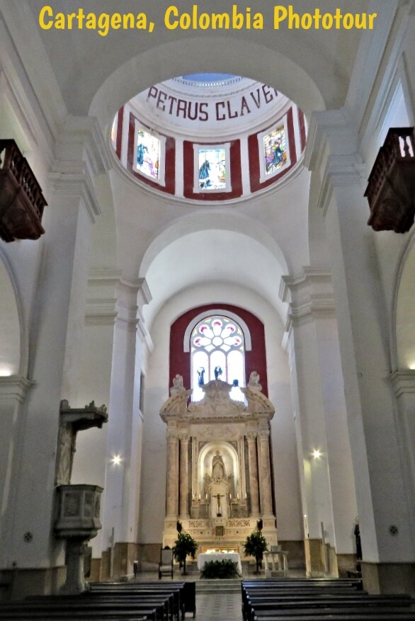 Church of San Pedro Claver in Old Town Cartagena, Colombia  #travel #Colombia #Cartagena #cruise #architecture #church #DisneyCruiseLine